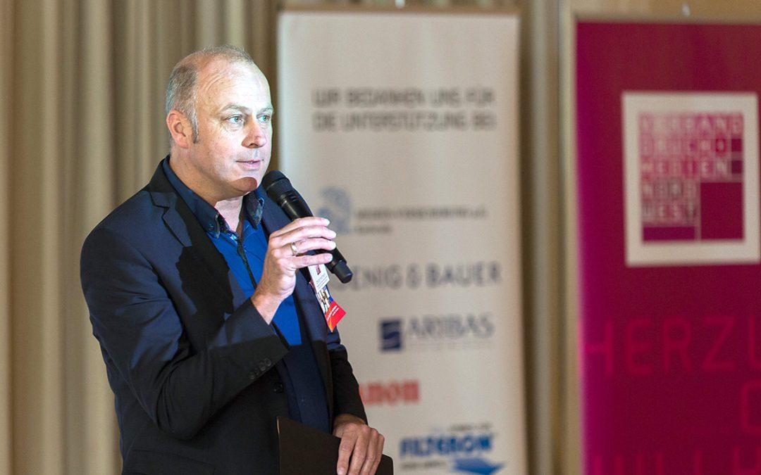 Christof Hoffman auf der Jahrestagung des VDN NW